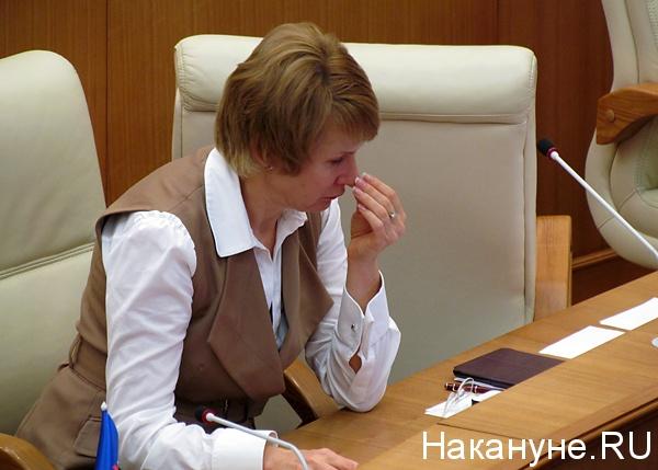 чечунова елена валерьевна депутат законодательного собрания свердловской области|Фото: Накануне.ru