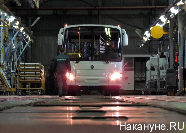 курганский автобусный завод кавз цех сборки Фото: Накануне.ru