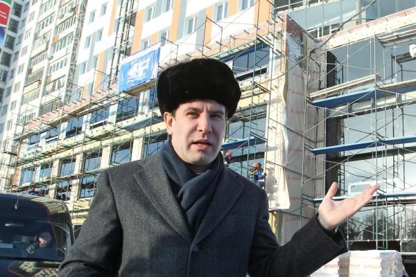 Михаил Юревич стройка|Фото: gubernator74.ru