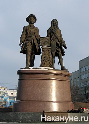 екатеринбург татищев де генин памятник|Фото: Накануне.ru