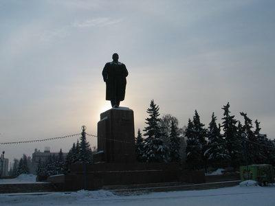Челябинск площадь Революции памятник Ленину|Фото: rusadventures.ru