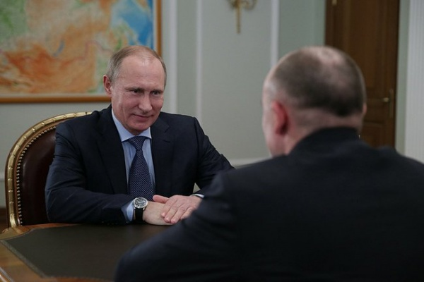 Владимир Путин Борис Дубровский|Фото: пресс-служба президента РФ