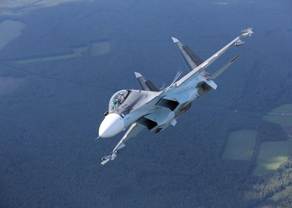Многоцелевой истребитель Су-30СМ ВВС России|Фото: irkut.com