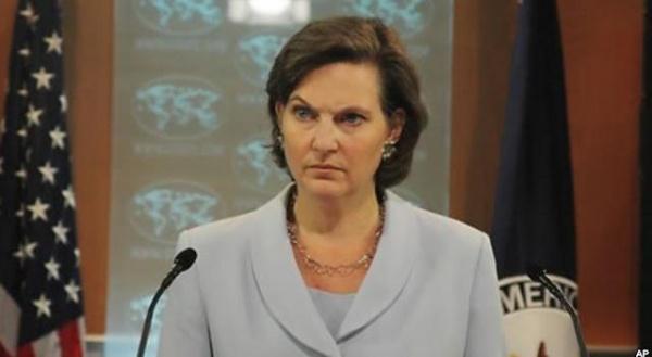 виктория нуланд, официальный представитель ГосДепа США|Фото:www.gazetaexpress.com