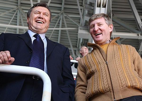 Виктор Янукович, Ринат Ахметов|Фото: newsukraine.com.ua