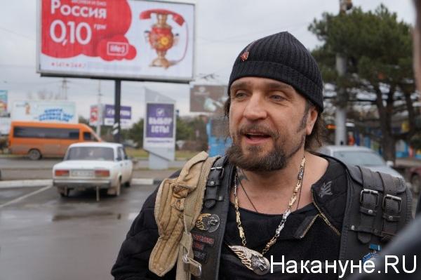 "лидер ""Ночных волков"" Александр Залдостанов (""Хирург"")|Фото:Накануне.RU"