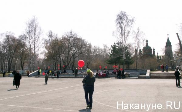 Челябинск, Алое поле(2014)|Фото: Накануне.RU
