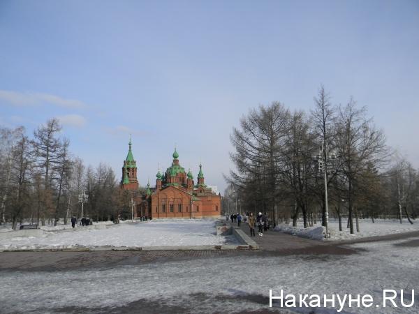 Челябинск Алое поле храм(2014)|Фото: Накануне.RU