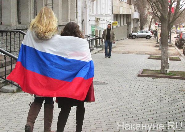Крым, российский флаг|Фото: Накануне.RU