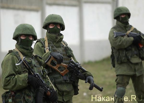 вежливые люди, солдаты, армия Фото: Накануне.RU