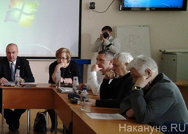"круглый стол, УрФУ, Майдан, ""пятая колонна"", Головин|Фото: Накануне.RU"
