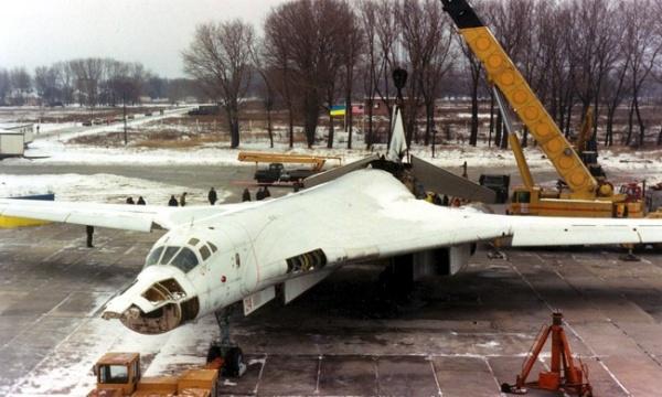 Ту-160, стратегический бомбардировщик|Фото: