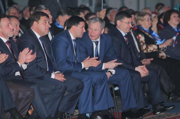 губернаторы УрФО Куйвашев Кокорин Кобылкин Якушев Фото: пресс-служба губернатора Курганской области