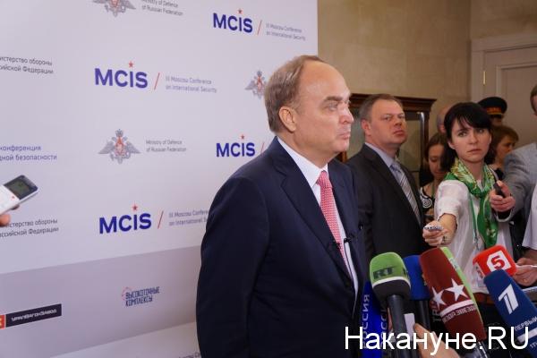 Заместитель министра обороны РФ Анатолий Антонов|Фото:Накануне.RU