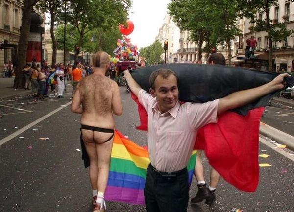 гей-парад, Киев, правый сектор, коллаж|Фото: