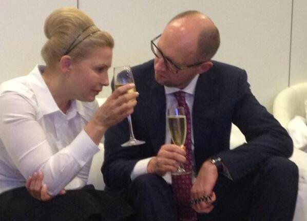 Юлия Тимошенко, Яценюк|Фото: