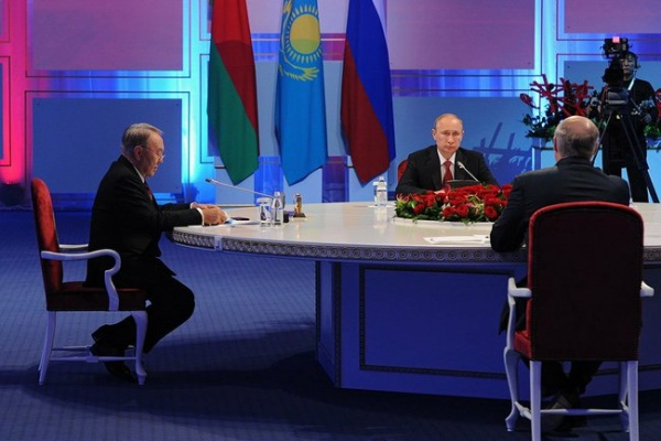 подписание договора о Евразийском экономическом союзе|Фото:kremlin.ru