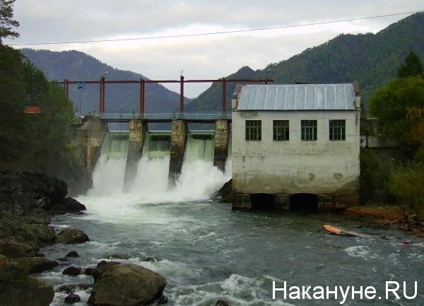 Алтай, река, Чемал, ГЭС|Фото: Накануне.RU