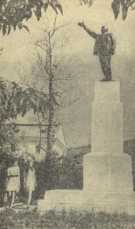 памятник Ленину в Тобольске|Фото: leninstatues.ru
