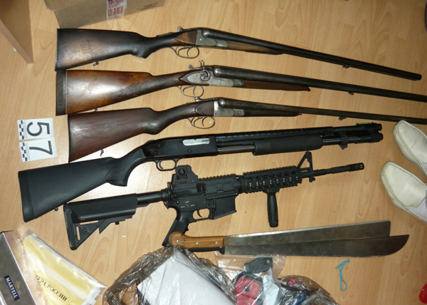 банда Федоровича, оружие, следственный эксперимент|Фото: СУ СКР по Свердловской области
