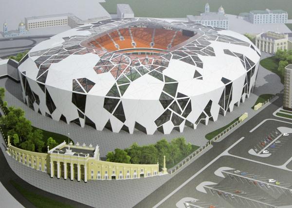 проект реконструкции центральный стадион Фото: администрация Екатеринбурга