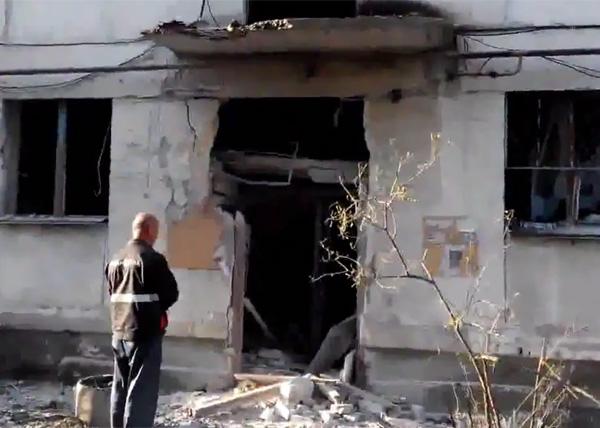 жилой дом, подъезд, Северодонецк, обстрел|Фото: youtube.com