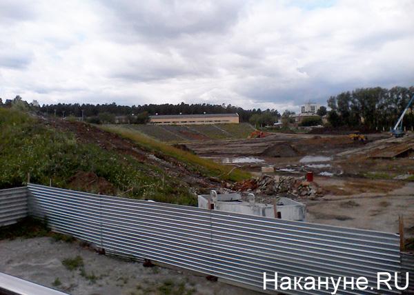Куйвашев, Чернецкий, стадион Уралмаш|Фото: Накануне.RU