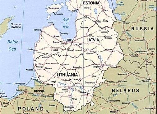 Прибалтика, Латвия, Литва, Эстония, Польша, Россия|Фото: