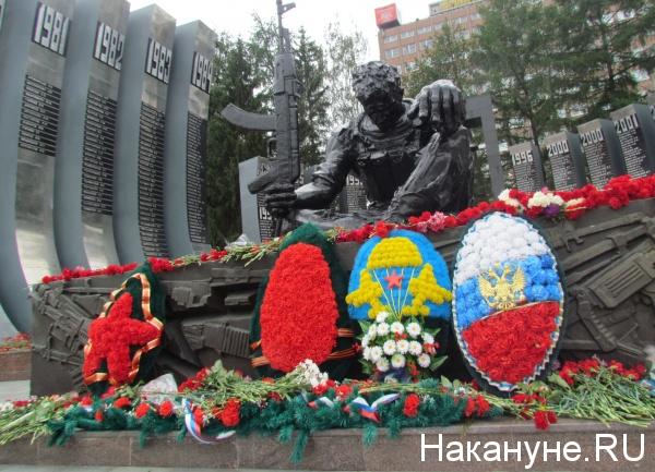 День ВДВ, Воздушно-десантные войска, Черный тюльпан, мемориал Фото: Накануне.RU