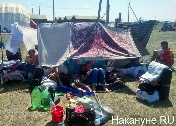 беженцы, Ростов, Украина, палаточный лагерь|Фото: Накануне.RU