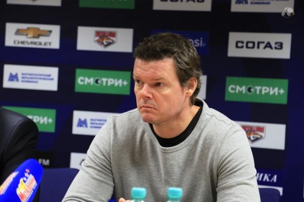 Карри Киви главный тренер ХК Трактор Челябинск|Фото: hctraktor.org
