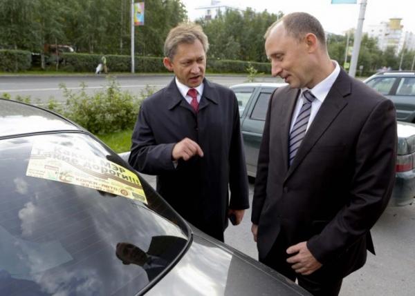 Мэр Сургута Владимир Попов, какой мэр - такие и дороги Фото:http://ugra-news.ru/