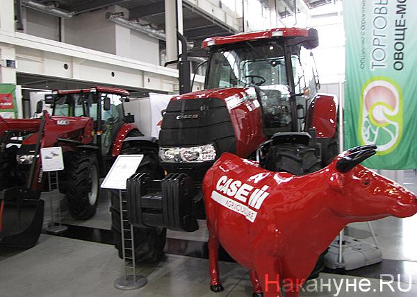Агропромышленный форум, выставка, тракторы  Фото: Накануне.RU
