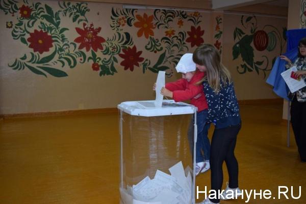 выборы голосование Курган Фото: Накануне.RU