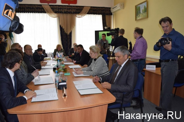 заседание избирательной комиссии Курганской области избирком Фото: Накануне.RU