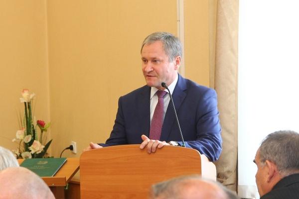 Алексей Кокорин избранный губернатор Курганской области Фото: пресс-служба губернатора Курганской области