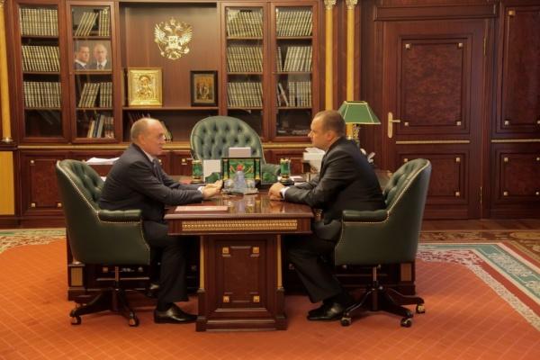 Борис Дубровский Андрей Сергеев|Фото: gubernator74.ru
