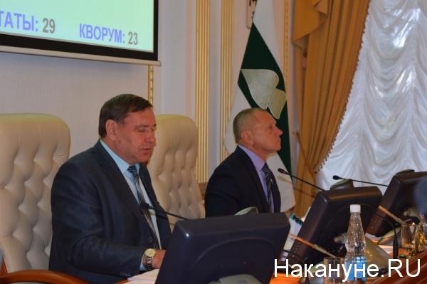 заседание Курганской областной думы Владимир Хабаров|Фото: Накануне.RU
