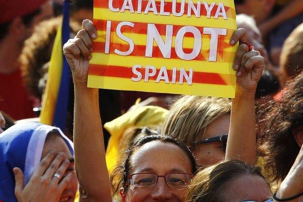 Каталония, протесты, независимость|Фото:rg.ru