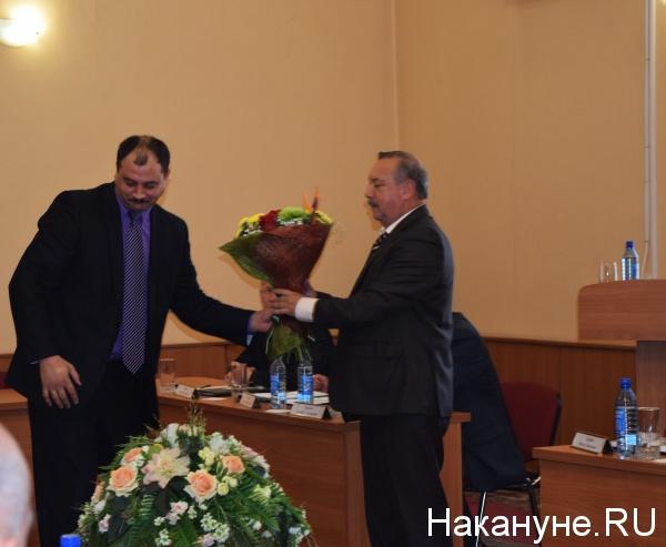 заседание Курганской городской думы Сергей Руденко Александр Якушев|Фото: Накануне.RU