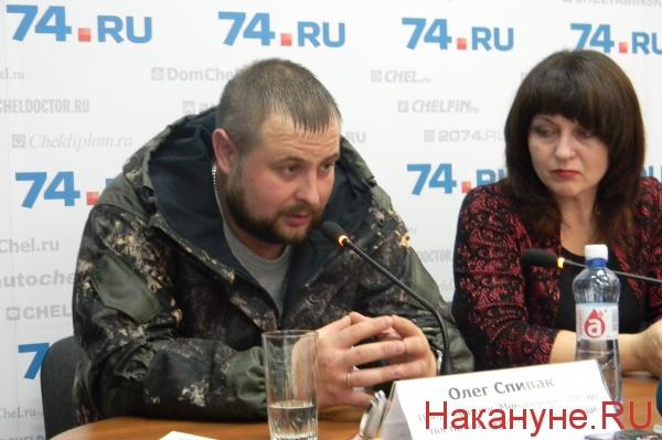 представитель министерства обороны ЛНР по поставкам гуманитарной помощи Олег Спивак|Фото: Накануне.RU