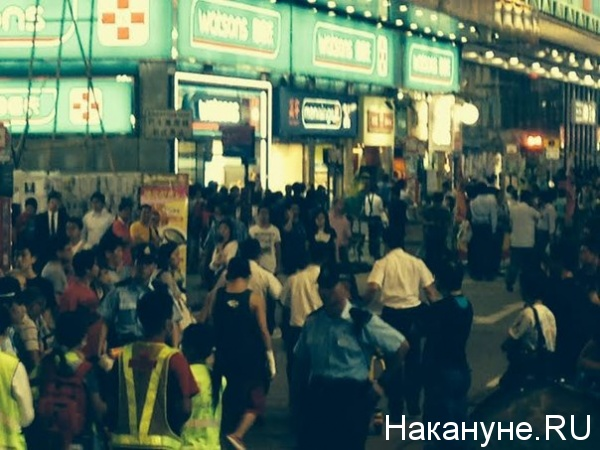 гонконг, майдан, митинг|Фото: олег кравченко