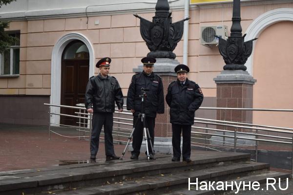 Курган пикет акция протеста полиция Фото: Накануне.RU