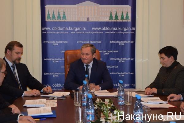 Курган совещание по энерготарифам Кокорин|Фото: Накануне.RU