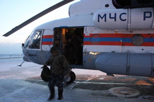 спасательная операция Серов вертолет|Фото: ГУ МЧС РФ по Свердловской области
