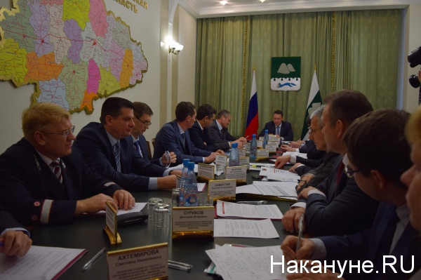 Курган Игорь Холманских совещание по пригородным перевозкам|Фото: Накануне.RU