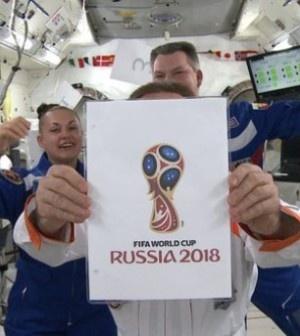 эмблема, чемпионат мира по футболу-2018, космонавты(2014)|Фото:россия2018.рф