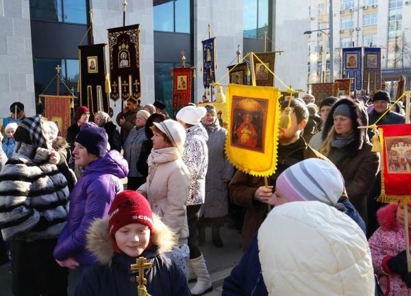 Крестный ход в Екатеринбурге 4 ноября|Фото: https://vk.com/id199069176