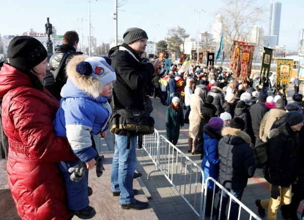 Крестный ход 4 ноября в Екатеринбурге|Фото: ДИП губернатора