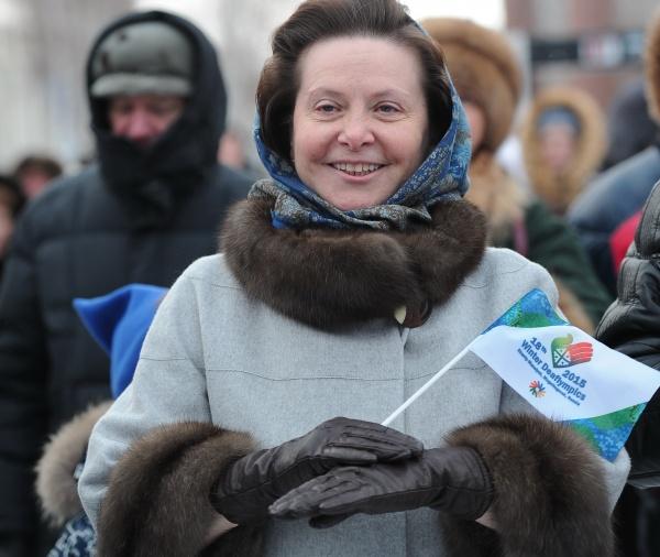 Наталья Комарова, язык жестов|Фото: пресс-служба губернатора Югры